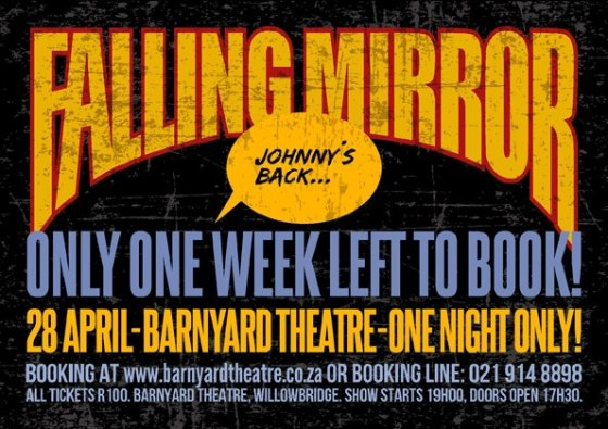 Falling Mirror - One Week Left To Book